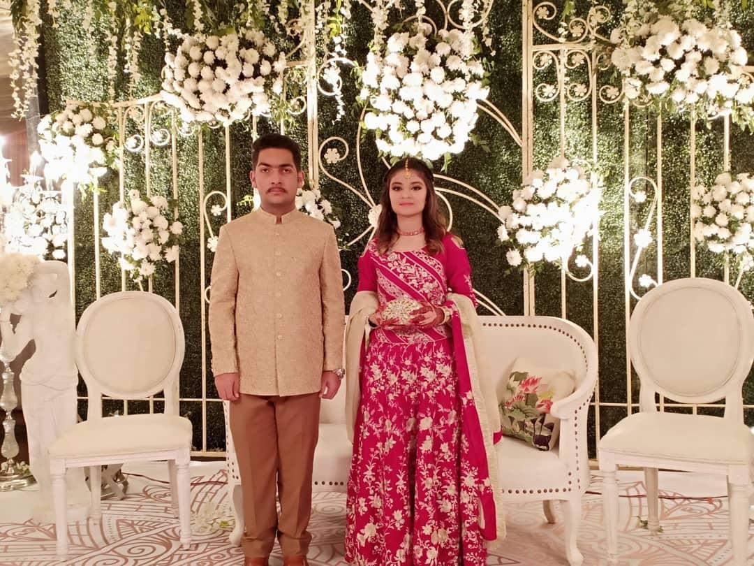 Famous Dramas Director Syed Atif Hussain Son Bazil Weds Zaraish - Check Celebrities Photos