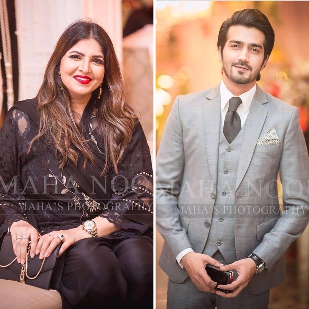 Celebrities Gathering of Aiman and Muneeb Wedding Last Night