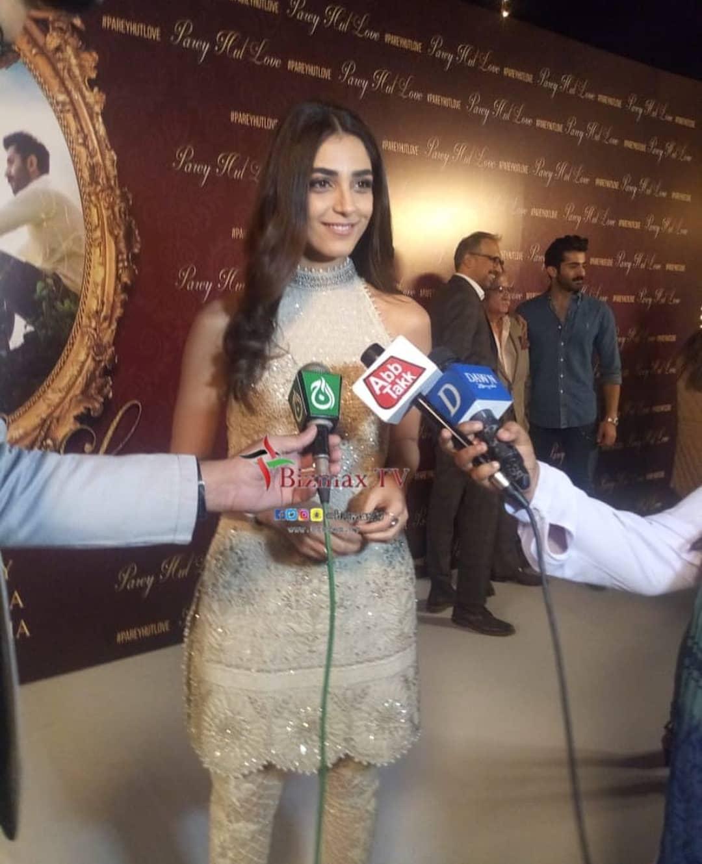 """Upcoming Movie """"Paray Hut Love"""" Stars - Maya Ali Mahira Khan and Zara Noor Their Wrap Up Party"""