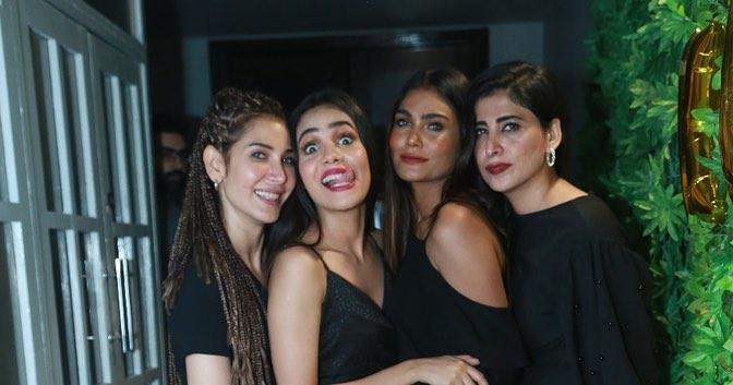 Celebrities Gathering at Party of Drama Ki Jaana Main Kon