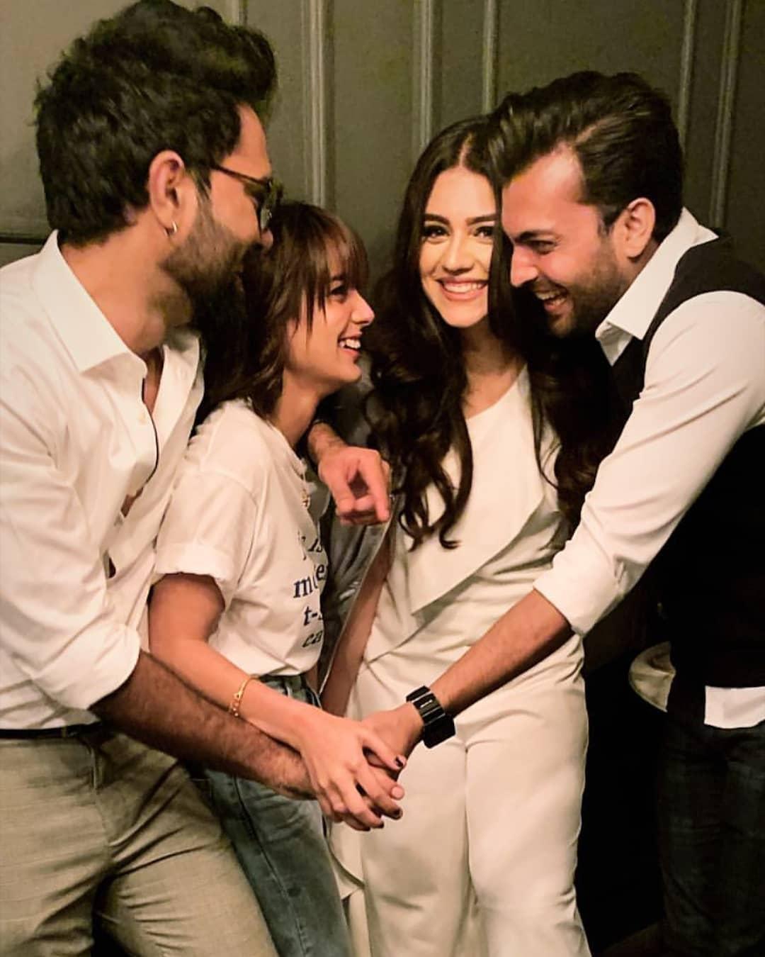 1st Wedding Annivarsy Party of Zara Noor Abbas and Asad Siddique - Huge Celebrities Gathering