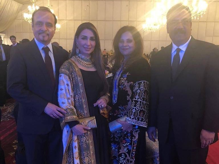Awesome Photos of Famous Star Reema with Her Husband at Function