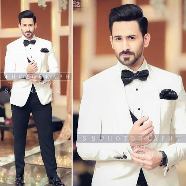 Awesome Photos of Actor Shan Baig Walima Ceremony