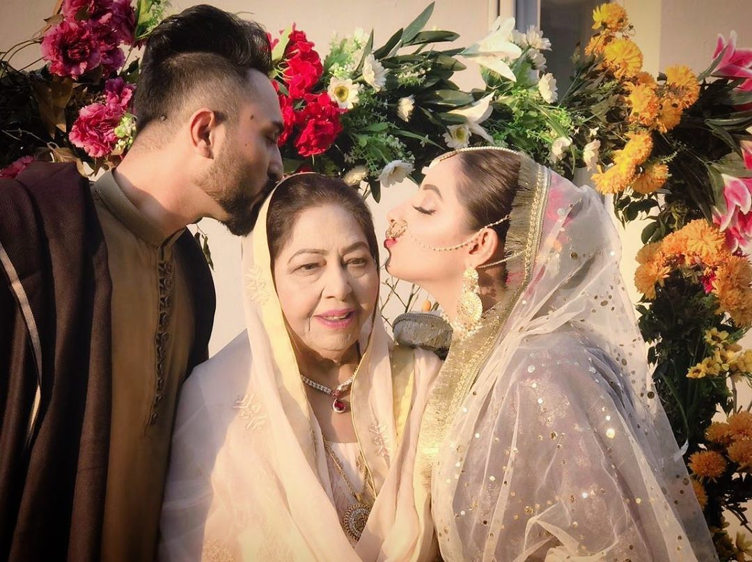 Beautiful Wedding Pictures Of Sanam Chaudhry Pakistani