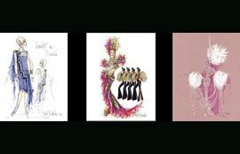 Bob Mackie vende sus ilustraciones