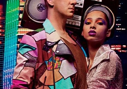 El diseñador Jeremy Scott, llena de música los maquillajes Mac