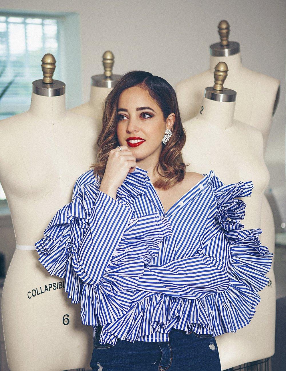 Nathalie Kriado, estilo definido que ha encantado a las celebridades latinas