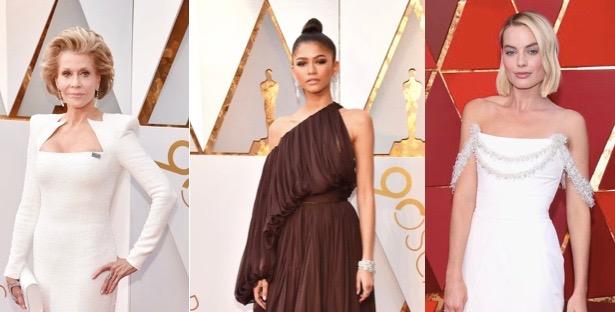Zendaya, Margot Robbie y Jane Fonda, de las mejor vestidas en los Oscars 2018 según tres expertas de moda