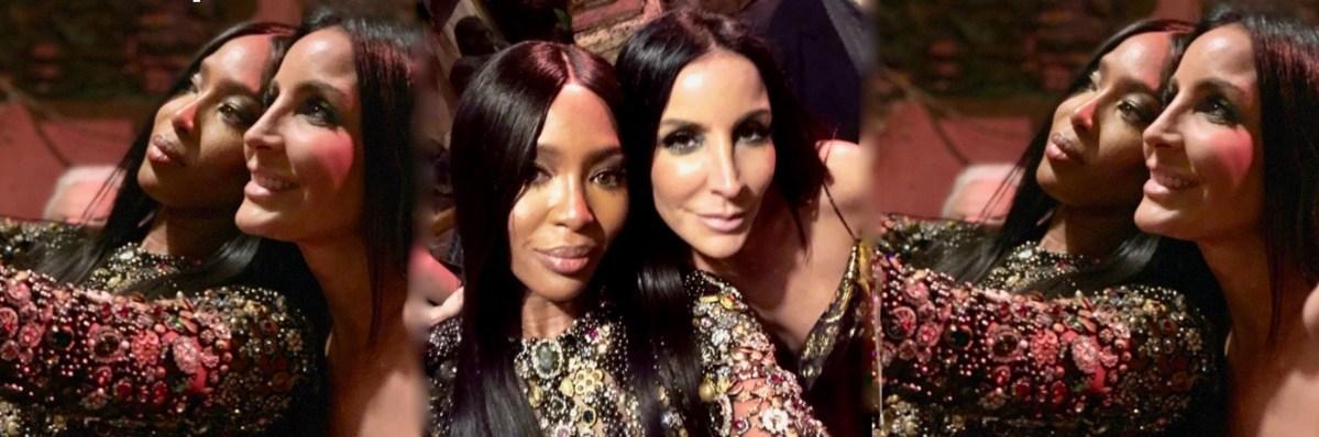 Stella Nolasco cuenta la historia detrás de este selfie con Naomi Campbell
