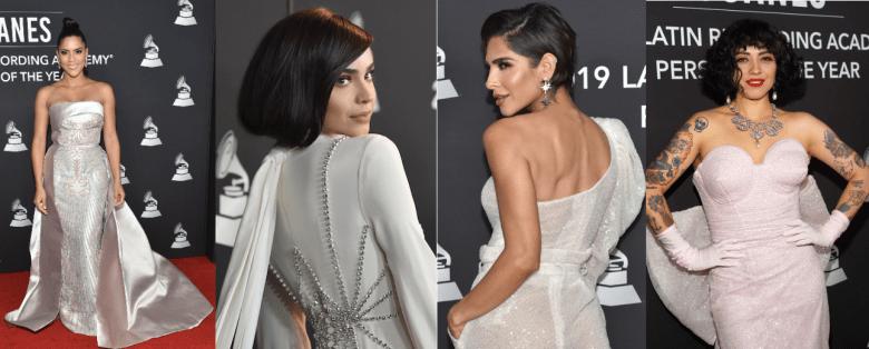 Cover Latin Grammy Fashion Vitrine