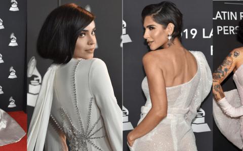La 'red carpet' como ensayo a la noche del Latin Grammy