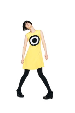 Giles Deacon's designs for the Minions Bello Yellow Collection