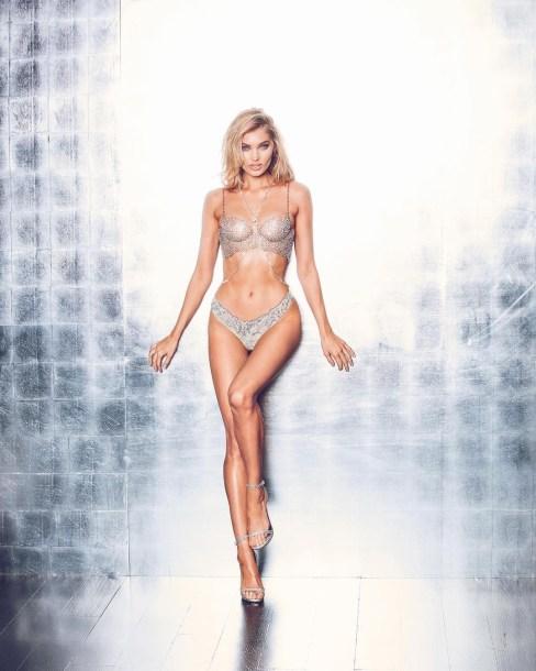 Elsa Hosk Victorias Secret Dream Angels Fantasy Bra 2018 Full Body Shot