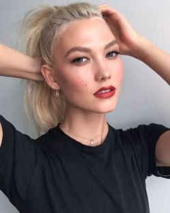 Karlie Kloss Headshot Fashion Voyeur