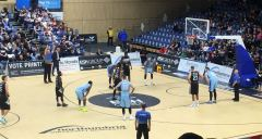 Newcastle Eagles vs Glasgow Rocks 071017 3