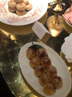 A selection of dim sum at the Park Chinois for London Fashion Week