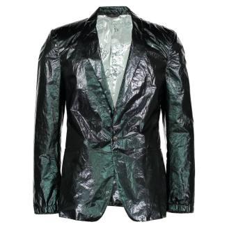 Mylar blazer by Calvin Klein Collection, 2010. ©Westminster Menswear Archive