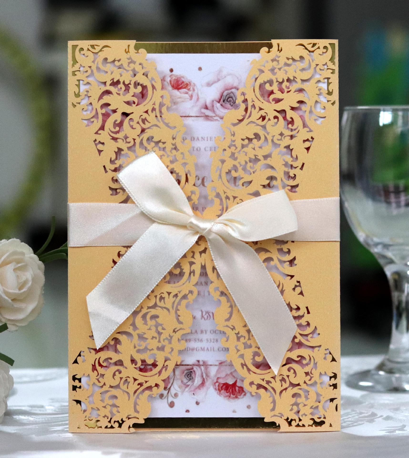 new wedding card marriage invitation card wholesale laser card wedding card customization