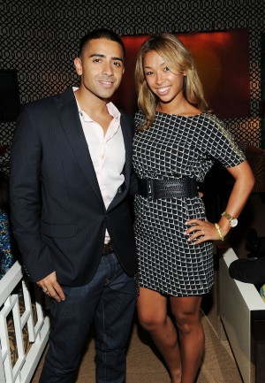 Jay Sean and Thara Piashad