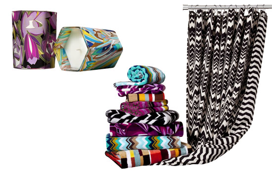 Missoni For Target Home Collection Fashionwindows
