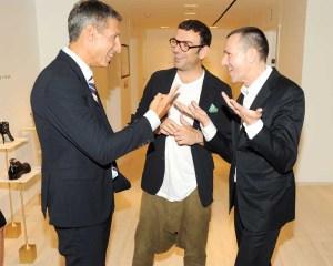 Richard Perry, Francesco Russo, Mark Lee