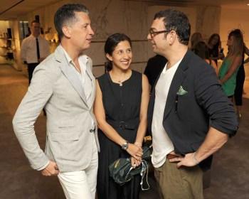 Stefano Tonchi, Karla Martinez, Francesco Russo