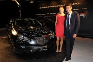 Emma Winter and Andrea Agnelli