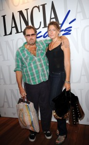 Julian Schnabel and Stella Schnabel