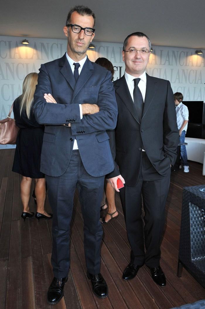 Michele Lupi and Luca Dini
