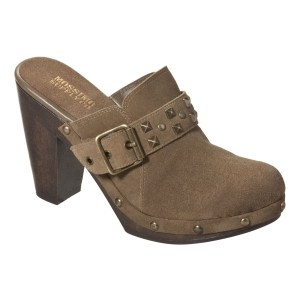 Mossimo Genuinue Suede Studded Clogs