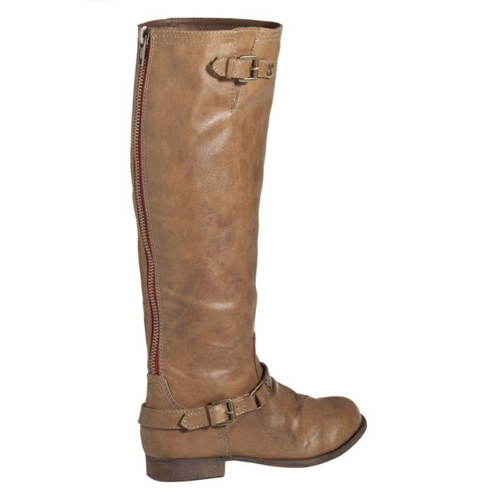 Mossimo Distressed Tall Buckle Boots