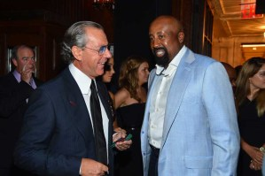 Angelo Galasso and Mike Woodson
