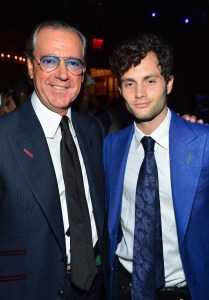 Angelo Galasso and Penn Badgley