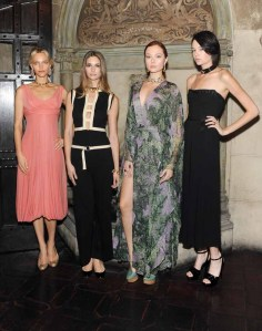 Models wearing Marina B Jewelry