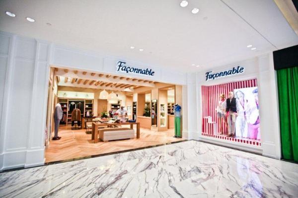 Boutique Faconnable TAKASHIMAYA 1