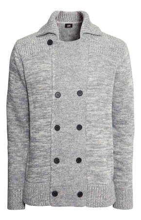 HM Grey cardigan_$49.95