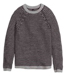 HM Rib-knit sweater $34.95