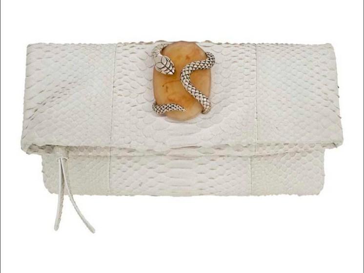 Rihanna in Roberto Cavalli bag