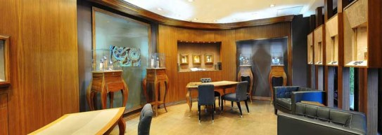 The BOVET 1822 Boutique at the Ritz Carlton, New York.