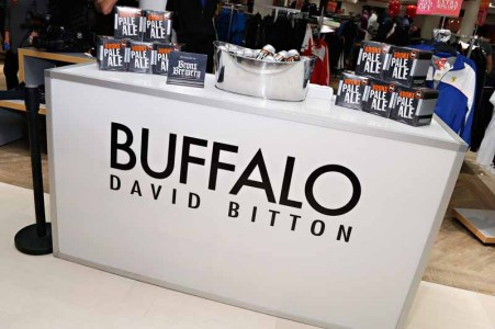 Celebrity Stylist Kate Young Debuts Holiday Installation For Buffalo David Bitton At Lord & Taylor