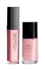 HM lip gloss nail polish