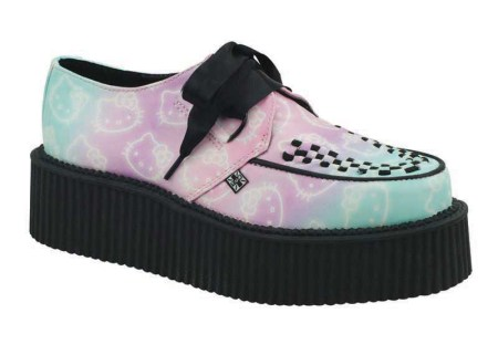Hello Kitty x T.U.K. - Ombre Creeper