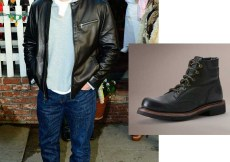 Matt Damon in Frye boots 2013