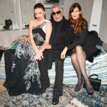 Miranda Kerr, Roberto Cavalli, Carol Alt