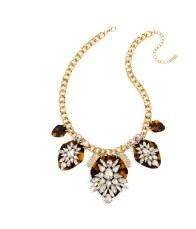 Constelation Crystal Station Bib Necklace_$58_Item 346290