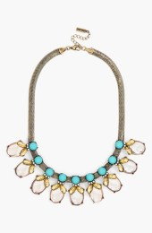 Crystal Bud Color Collar Necklace_$52_Item 446415