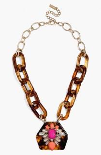 Long Embellished Tortoise Pendant_$46_Item 346853