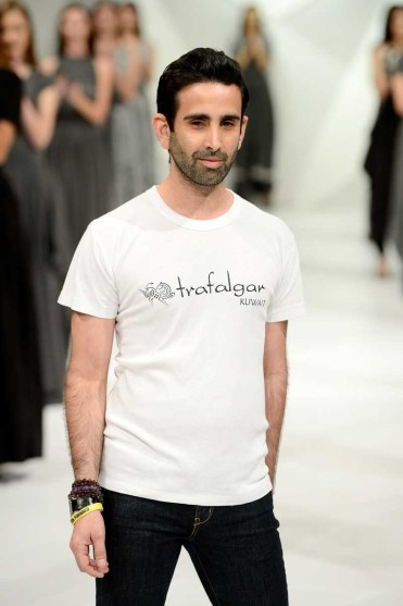 Tahir Sultan - Runway - Fashion Forward Dubai April 2014