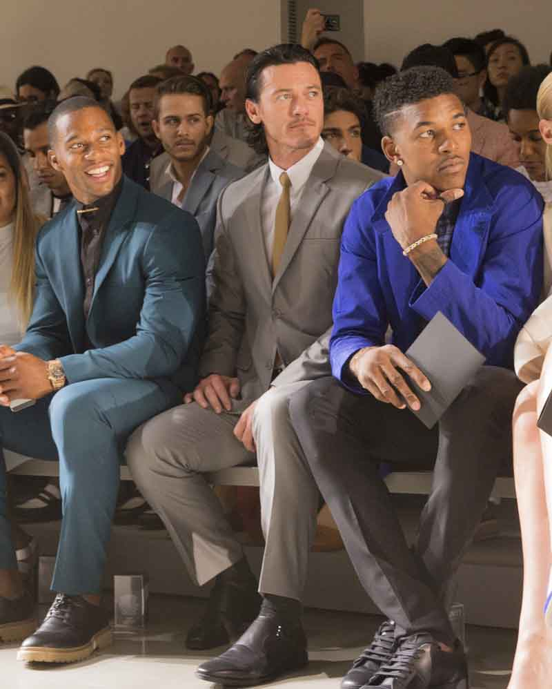 Victor Cruz, Luke Evans, Nick Young