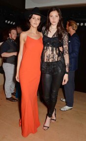Eliza Cummings (L) and Matilda Lowther